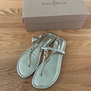 Cole Haan Gold Ally Sandal